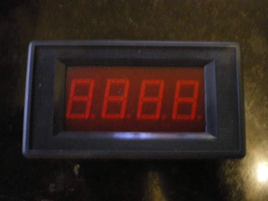 Digital 200V DC Voltage Panel Meter Voltmeter