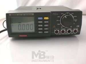 Workbench Digital Meter w4.5 Digit Autoranging Bench Top Multimeter MS8040 0.05%