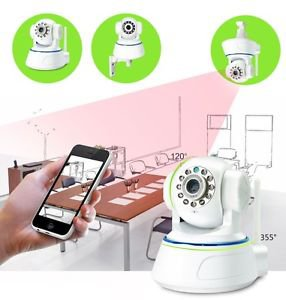 IP Camera IPCAM Wireless WiFi Webcam Home Security Surveillance HD 960P 3.6mm