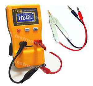M6013 AutoRange Digital Cap Capacitor Capacitance Tester Meter 0.01pF to 470mF