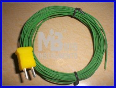 10M Temperature Sensor Probe K Type 200°C