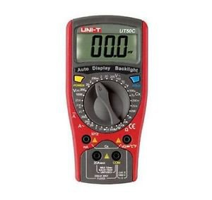 UT50C Standard Electrical Meter Digital Multimeter