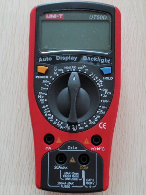 UT50D Standard Electrical Meter Digital Multimeter