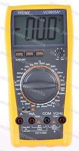 DMM VICHY VC9805A Digital Multimeter Electrical Meter