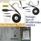 DSO Probes - Oscilloscope Probe 150Mhz 1:10 Rigol RP2200 x 2pcs