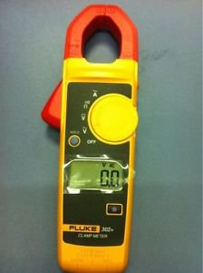 Fluke 302+ Digital Clamp Meter AC/DC Multimeter Tester DMM