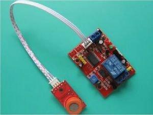 12V MQ-3 Alcohol Alarm Sensor Time Delay Relay Module Arduino