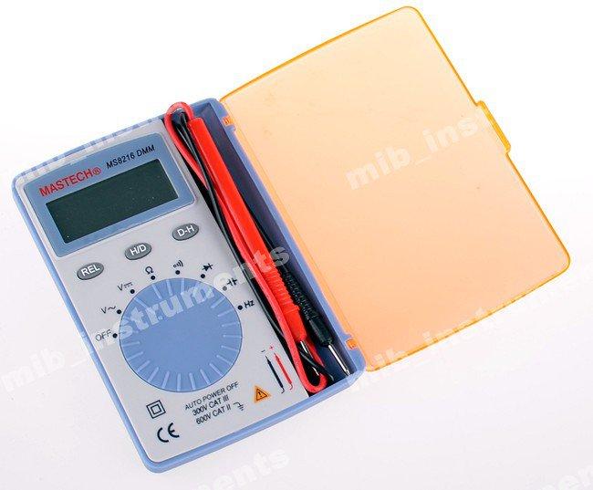 MASTECH MS8216 Extra Thin Autorange Digital Multimeter Pocket Size Full Function