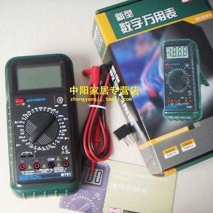 Mastech MY61 3 1/2 Digital Multimeter DMM AC/DC/Ω/uF