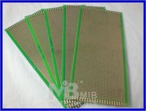 FR4 10x22cm Prototyping PCB Board Prototype DIY KIT x5p