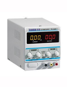 PS202D Variable 20V 2A DC Power Supply Lab Grade