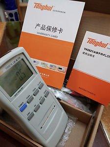 New LCR Meter Handheld Bridge LCR Multimeter Tool 0.3% acc 0.01% res TH2821B