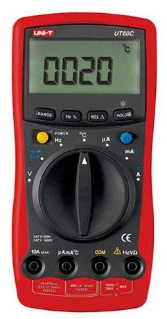 Palm Size Modern Digital Multimeters AC/DC/RCF UT60C