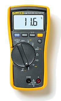 Fluke F116 116C Digital Multimeter DMM Temperature MicroAmps HVAC Meter Tool New
