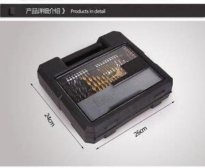 Drill Bit Kitbox 70pcs Tool Kit Set for Screw Driver / Hammer Drill / Woodwork