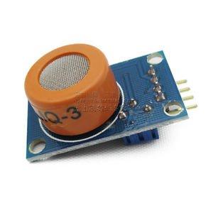 2PCS x MQ-3 Alcohol Sensor Breath module, Gas detector
