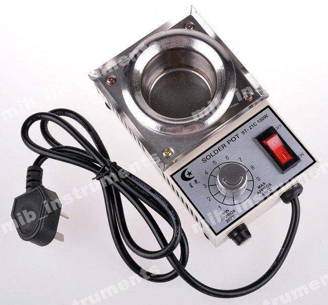 ST21C Solder Pot Soldering Desoldering Bath 50mm Diameter 220V/150W/200C-400C