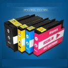 HP officejet 6100 Compatible Printer Ink 932XL 933XL Black Y/R/B Colors x 1set