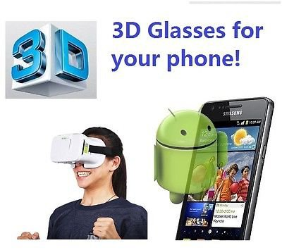 3D Virtual Reality VR Glasses Z3 Cardboard Box Ver3 Turn your phone into 3D IMAX