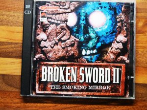 BROKEN SWORD II 2 SMOKING MIRROR  PC