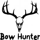 Bow Hunter Vinyl Decal