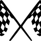 Racing Flags Vinyl Decal