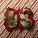Christmas Dot Boutique Hair Bow