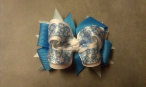 Winter Wonderland Boutique Hair Bow