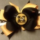 Mizzou Tigers Boutique Hair Bow