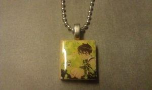 Ben 10 Scrabble Tile Necklace