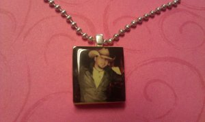 Jason Aldean Scrabble Tile Necklace