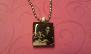 Elvis Presley Scrabble Tile Necklace