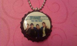 Big Time Rush Bottle Cap Necklace