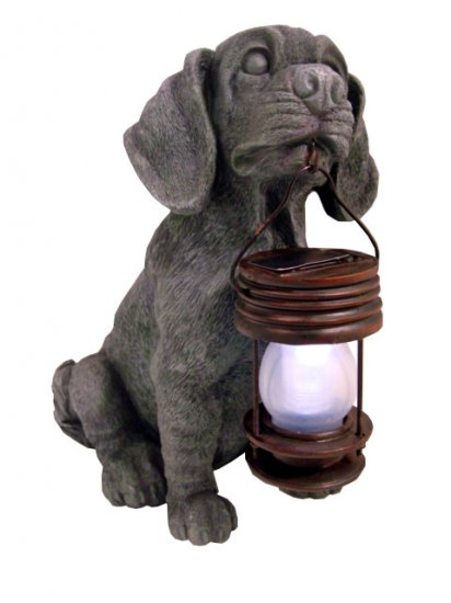 Dog Carry Lantern Solar Light