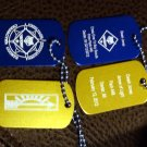 CUB SCOUT ARROW OF LIGHT & CROSS OVER AWARD SET