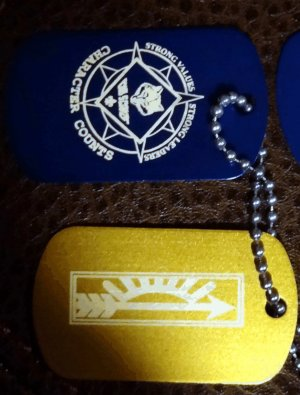 CUB SCOUT ARROW OF LIGHT &amp; CROSS OVER AWARD SET
