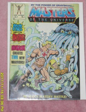 Masters of the Universe Comic Magazine (1987) number 31
