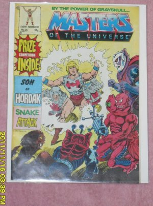 Masters of the Universe Comic Magazine (1987) number 36