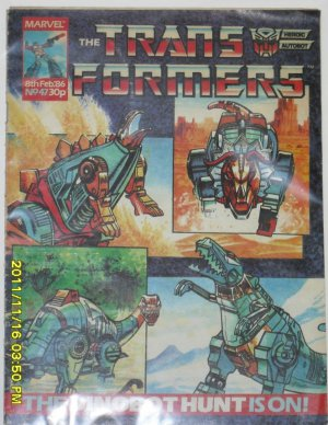 Transformers Comic by Marvel (1986) Issue No 47