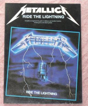 Metallica Ride the Lighting guitar tablature