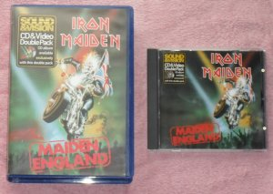 Iron Maiden � Maiden England  (VHS Video/CD Combo)