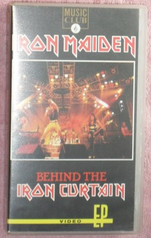 Iron Maiden � Behind the Iron Curtain (VHS Video)