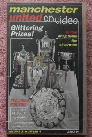Man Utd on Video (VHS Video)