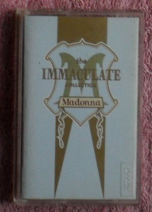 Madonna � The Immaculate collection audio Cassette