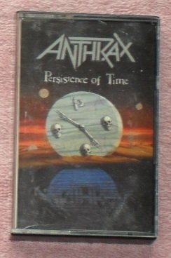 Anthrax � Persistance of Time audio Cassette