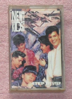 New Kids on the Block � Step by Step Audio Cassette