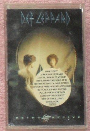 Dep Leppard � Retro Active Cassette
