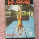 Def Leppard – High and Dry audio Cassette