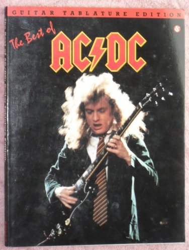 AC DC The Best of guitar tablature