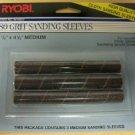 "Ryobi OSS450 Oscillating Spindle 80 Grit Sanding Sleeves - .75""x4.5"" Medium"